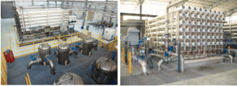Pictures of the Rio Tinto Reverse Osmosis plant in West Jordan, Utah